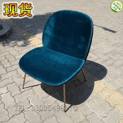 [有货] 实物北欧简约现代奢华不锈钢电镀 休闲椅现代经典美式欧式地中海