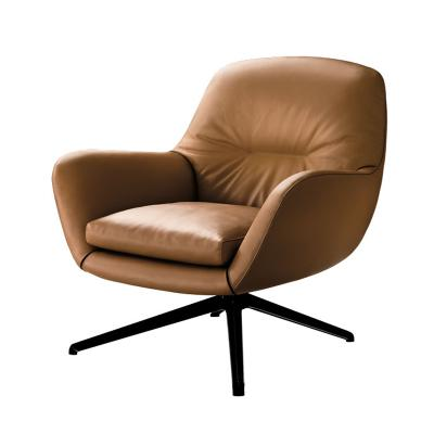 Minotti 意大利设计师家具 Design by Rodolfo Dordoni休闲椅皮革仿真皮