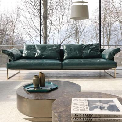 2018年新款沙发 单人多人贵妃沙发 Désirée divani ARLON  Leather sofa Matteo Thun & Partners
