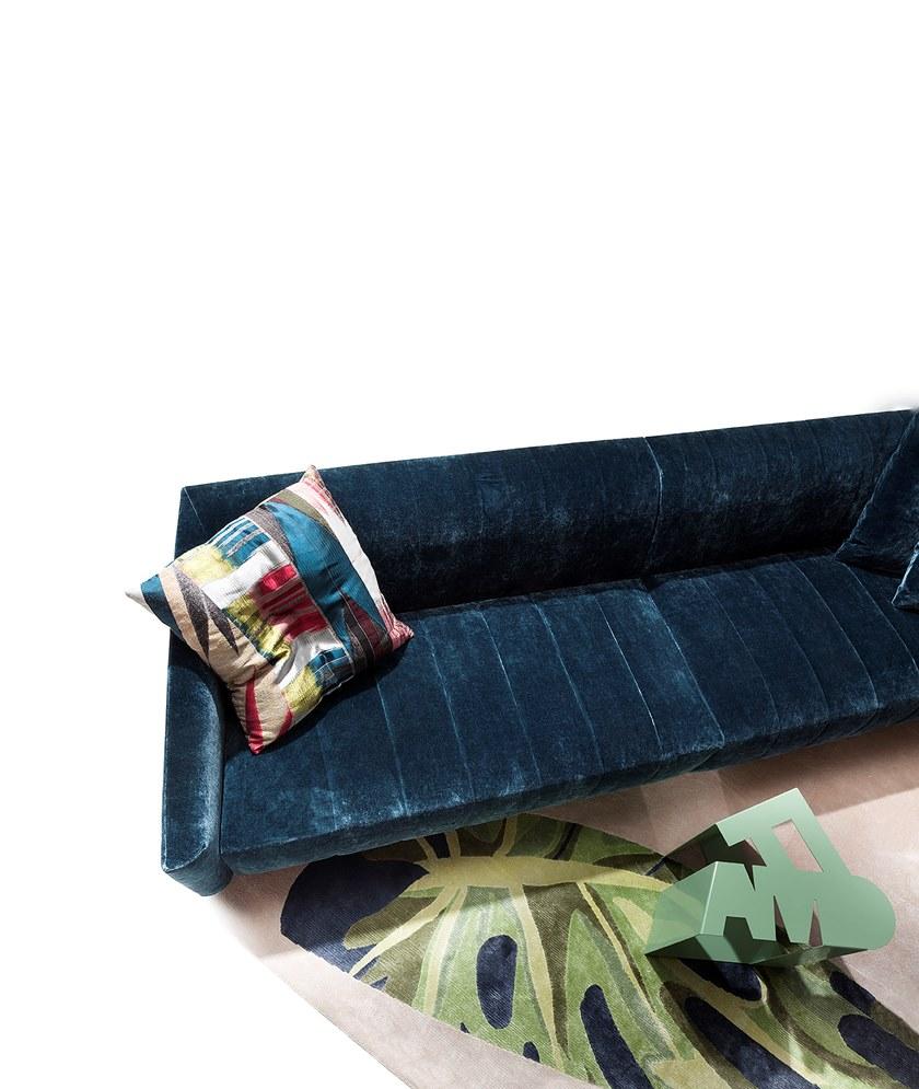 2018年新款沙发 ERBA BELLA DONNA  armchair by Giorgio Soressi 布艺条形切片沙发
