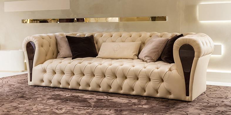 2019新品 Turri MAYFAIR  Sofa by Andrea Bonini 伦敦上流社会双人多人沙发