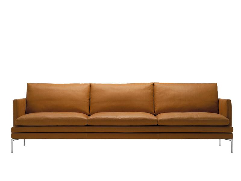 Zanotta WILLIAM Sofa by Damian Williamson 威廉沙发 设计师沙发双人三人位