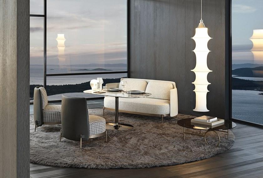 2018年新款 意大利Minotti TAPE  Sofa by Nendo 米洛提米诺蒂磁带胶带单人双人三人沙发
