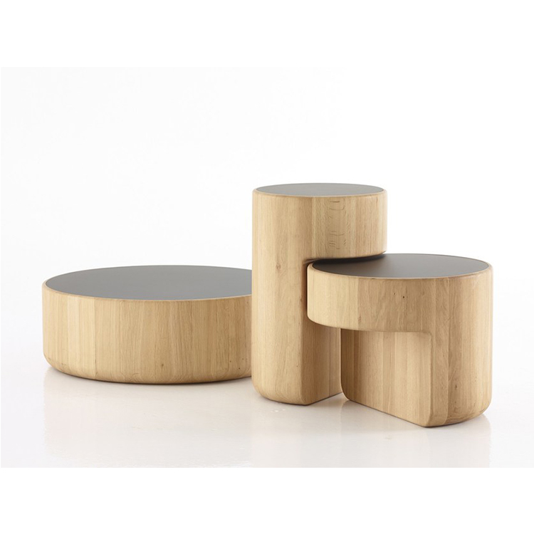 LEVELS Coffee table by Lucie Koldova, Dan Yeffet 实木重叠咖啡桌