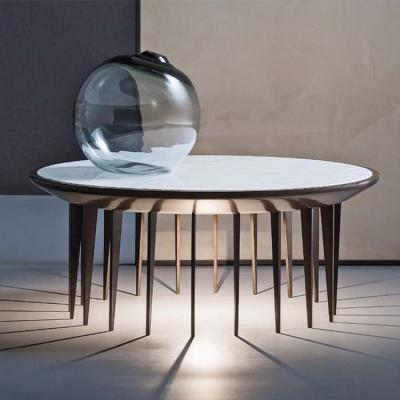 蜈蚣脚多脚茶几五金不锈钢大理石茶几 KARA  Coffee table Marble coffee table