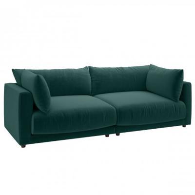 祖母绿天鹅绒 BOUT CLEMENCE Recently Viewed sofa单人 双人三人四人多人沙发高档布艺