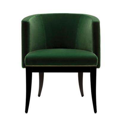 新中式经典优雅低调翡翠椅 heritage chairs emerald 宾馆酒店会所KTV  设计师休闲椅餐椅