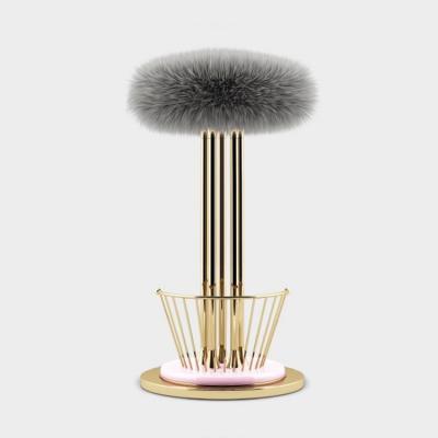 类似系列:  挑战艺术时尚装饰  Andy Warhol Ottiu  High stool 高脚吧椅不锈钢花朵花蕊椅