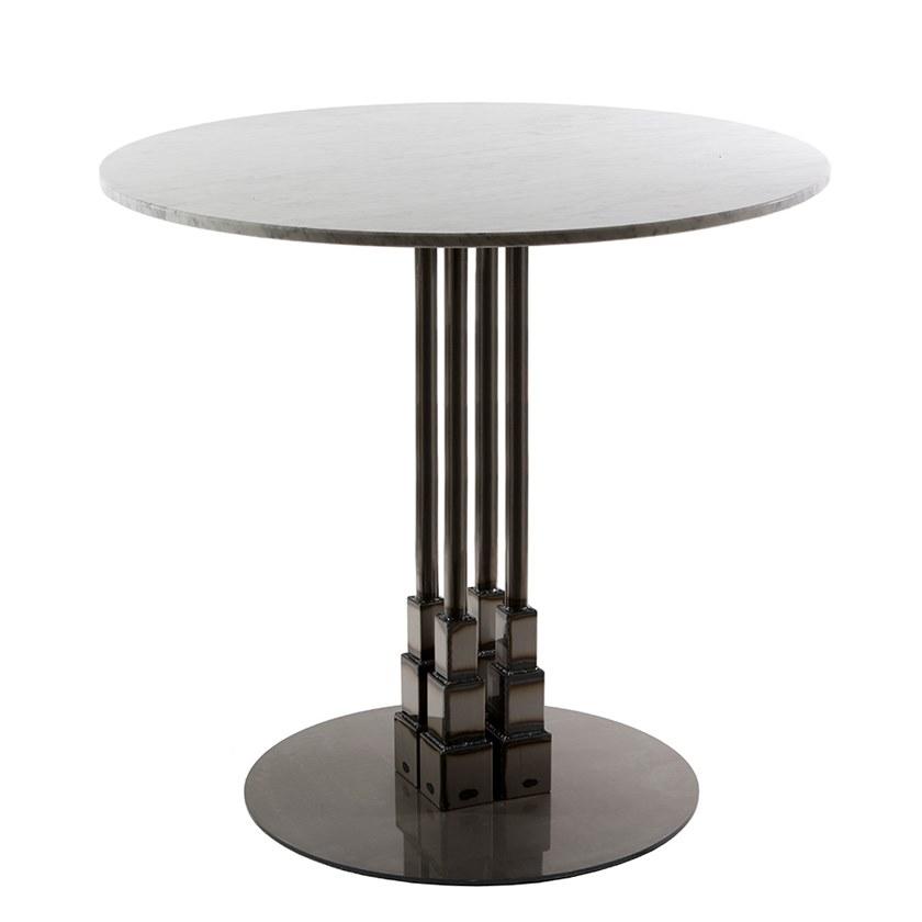 可见焊接 帝国大理石圆桌 台阶梯基地 基座茶几Vela Arredamenti EMPIRE table