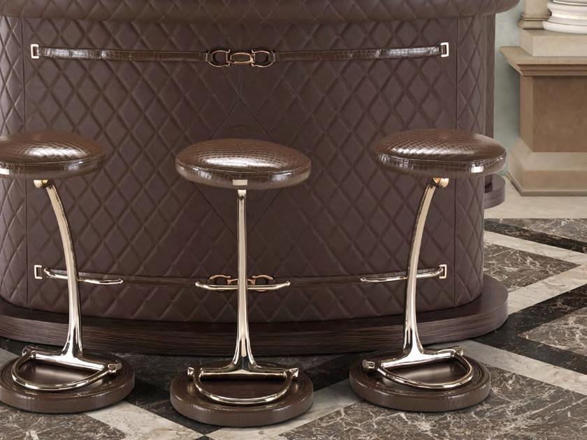 吧椅 单杆脚 Formitalia RICHIE High stool家具源头工厂生产制造商 家具源头工厂生产制造商家居厂家