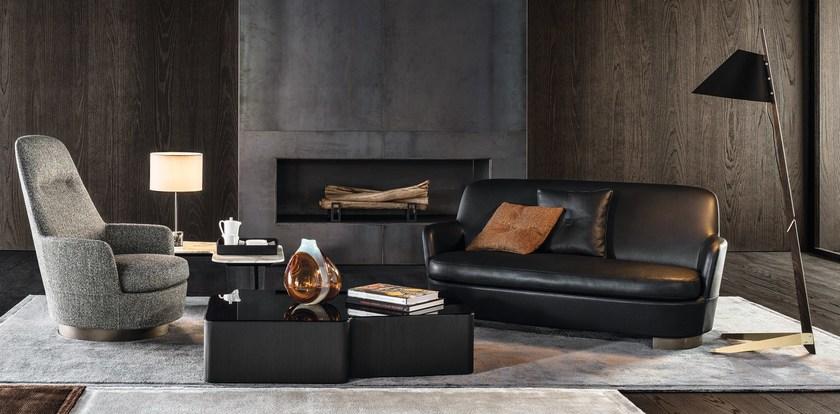 意大利设计师作品 休闲椅2017年 Minotti JACQUES Bergere armchair 扶手椅