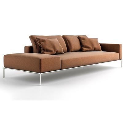 2019年新品新款 不锈钢拉丝电镀无指纹封油沙发 双人三人沙发 Casamania & Horm DIZZY  sofa
