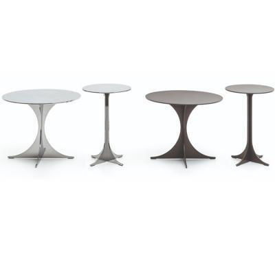 2019年新款西班牙 现代风格 圆形金属咖啡桌 五金茶几角几边几 Minotti ANISH Contemporary table