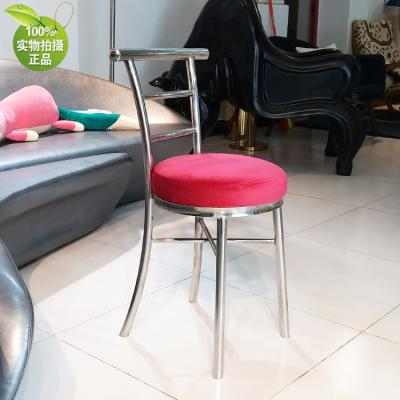 世界上最小的卡位餐椅 香港上海餐厅小户型家具 洽谈化妆椅小体积