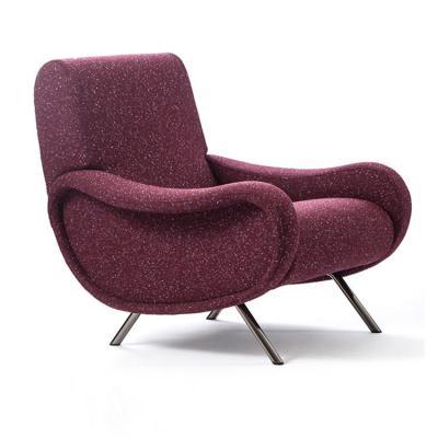 单人位沙发北欧女性 妇女 美容夫人沙发椅  护肤养生美发 居家豪华 经典耐看百搭