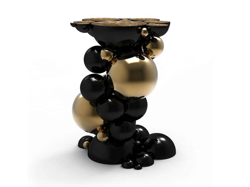 Boca do Lobo NEWTON牛顿茶几变幻莫测宏伟乐趣镀金球体半球体茶几