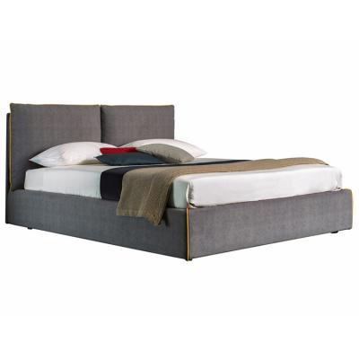 猫属路易斯 床上的故事 国外设计师家具床铺 线条包边 彩色滚边The bed