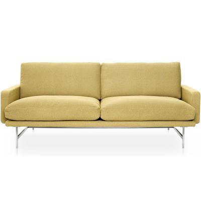 意大利 皮埃尔• 里梭尼双人三人沙发布艺皮革超纤皮真皮定制小户型样品沙发