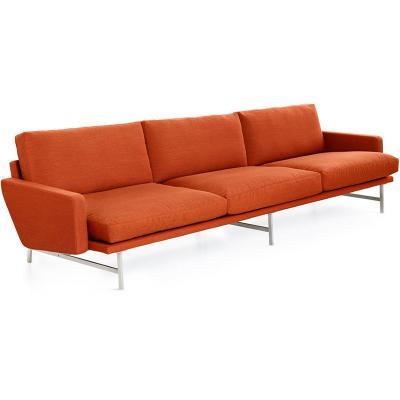 意大利 皮埃尔• 里梭尼四人三人位沙发布艺皮革超纤皮真皮定制小户型样品沙发