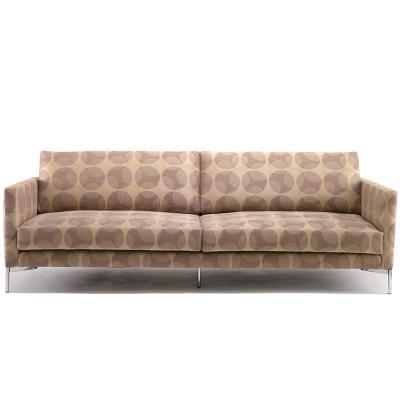 意大利 皮埃尔• 里梭尼长诗长椅三人双人位沙发椅布艺革超纤皮真皮定制小户型样品沙发