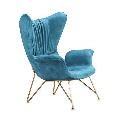 铁烤漆不锈钢电镀休闲椅 北欧设计师家具定制 意式极简商用家用椅