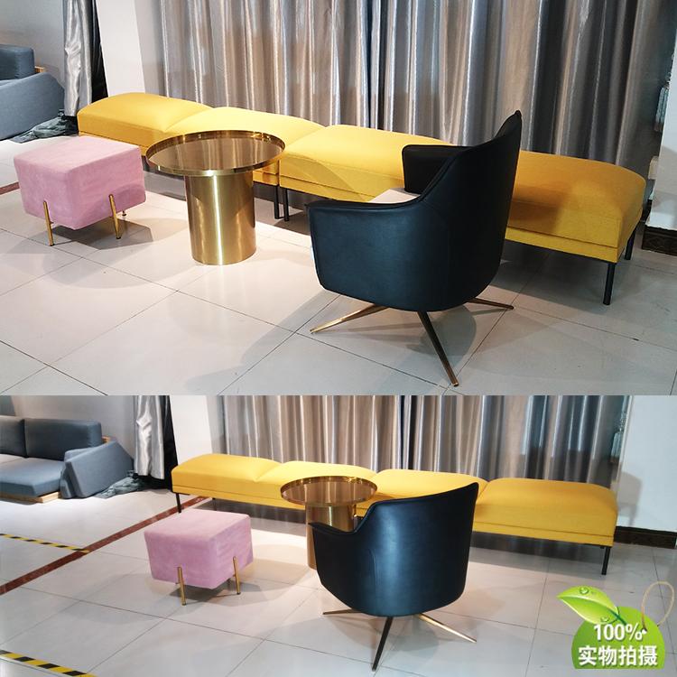 酒店会所样板房 steeve two seat bench 简约试鞋凳长凳床尾凳休息换鞋凳脚踏矮凳