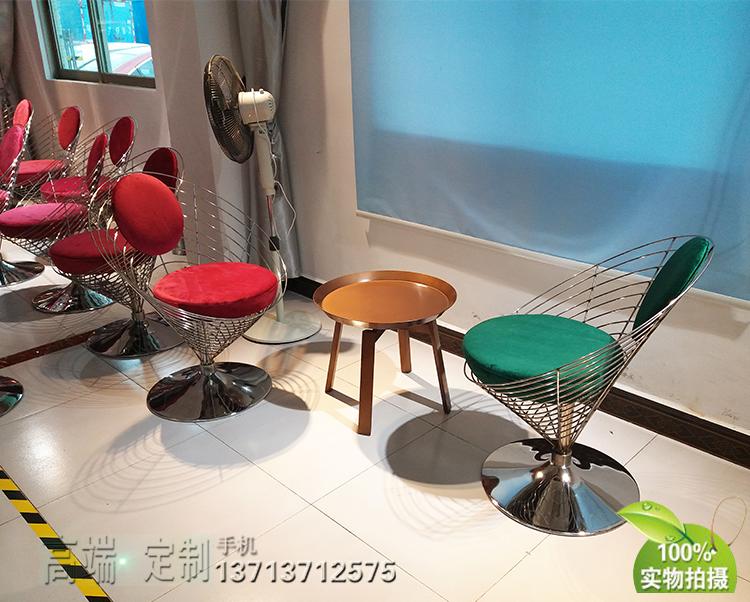 高档家具304不锈钢软包椅 办公家具椅会议椅会客椅绒布餐椅美容酒店会所接待椅