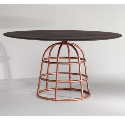 桌子弥撒桌金属底座玻璃大理石实木 不锈钢电镀脚架 圆圈脚 格子网子裙衬裙子脚