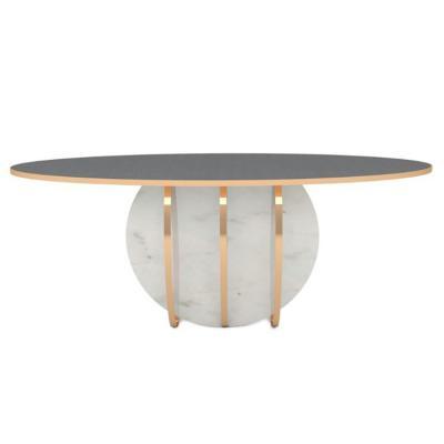 Duquesa & Malvada 十二生肖 控制台 椭圆形桌案餐椅茶几展厅桌