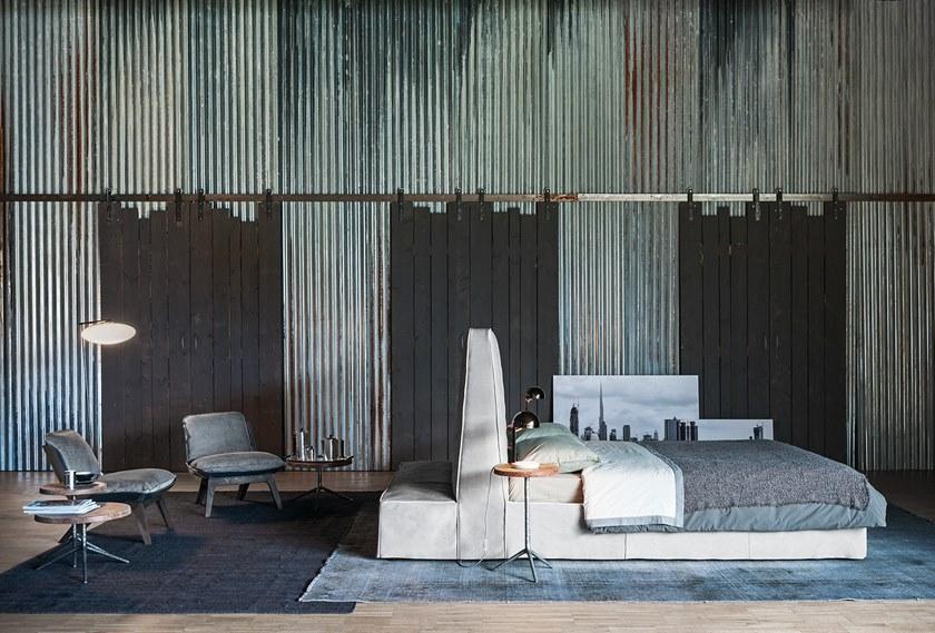 巴克斯特 保拉·纳沃内 床 床铺 意大利公寓 小户型 样板房儿童床 布艺可拆外罩
