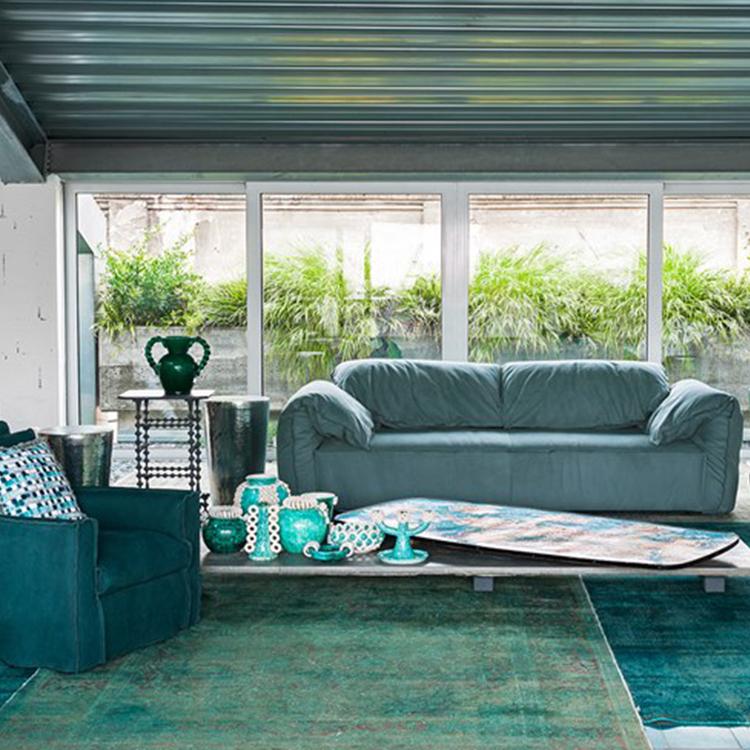 巴克斯特卡萨布兰卡 保拉·纳沃内 意大利设计师家具 单人双人多人落地沙发