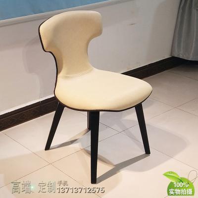 罗伯托·拉泽罗尼 蒙特拉椅时尚前沿 皮质餐椅创意书椅儿童房电脑椅内裤椅 双色设计师椅