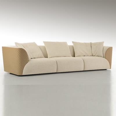 宾利家具温斯顿刺绣沙发BENTLEY HOME WINSTON  sofa 单人位双人位三人位沙发