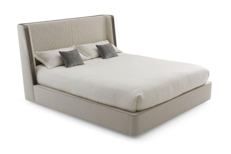 宾利家具斯坦福德床优雅卧室 BENTLEY HOME STAMFORD BED 拉扣实木 电镀金色床铺