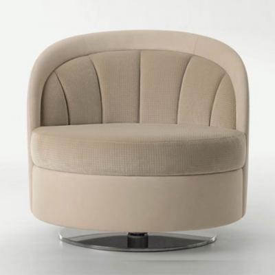 宾利家具阿什利BENTLEY HOME  ASHLEY 不锈钢电镀脚圆形杯子休闲椅餐椅美容椅