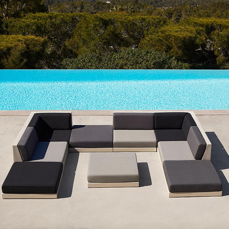 2019年新品 西班牙设计师拉蒙埃VONDOM PIXEL sofa 花园扶手椅 组合沙发大全