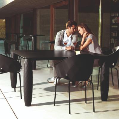 VONDOM vase table estudiHac 2019年新品玻璃钢花瓶脚菱形餐桌咖啡桌 会议桌