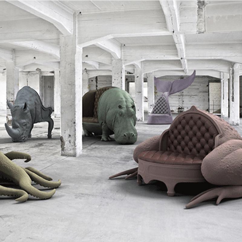 设计大师家具动物鱼椅鱼尾巴鲸鱼尾 玻璃钢创意沙发椅 海洋生物 颜色可定制北欧欧美家具高端个性定制