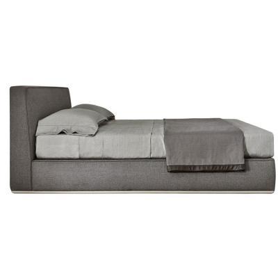 意大利Minotti 不锈钢拉丝底框 线条美家具 布艺沙发床铺 颜色可定制家具家用商用床铺