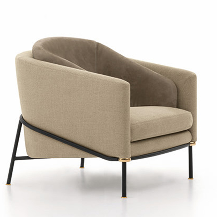 Minotti菲尔黑 意大利设计师Christophe Delcour 国际设计大奖EDIDA 座椅 餐椅休闲椅