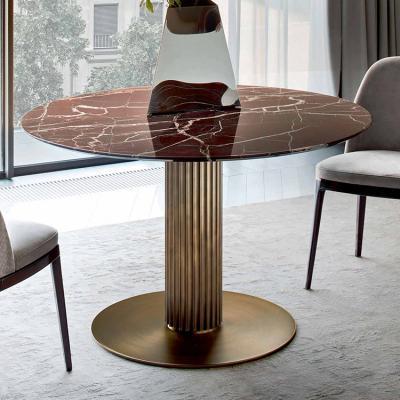 意大利RUGIANO 餐桌茶几系列 方形圆形餐桌鲁贾诺会议桌 酒吧会所家具定制