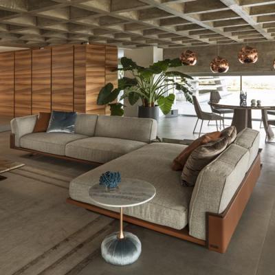 意大利品牌Longhi 设计师 Giuseppe Viganò 2019年沙发系列 不锈钢电镀五金软包硬包 实木三人四人 多人沙发组合沙发