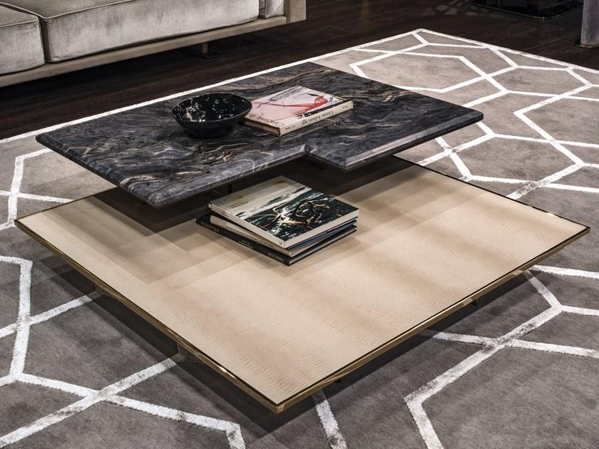 意大利Longhi 茶几系列大全 2019年新款 边几角几 几何大理石五金不锈钢电镀实木材质规格定制家具
