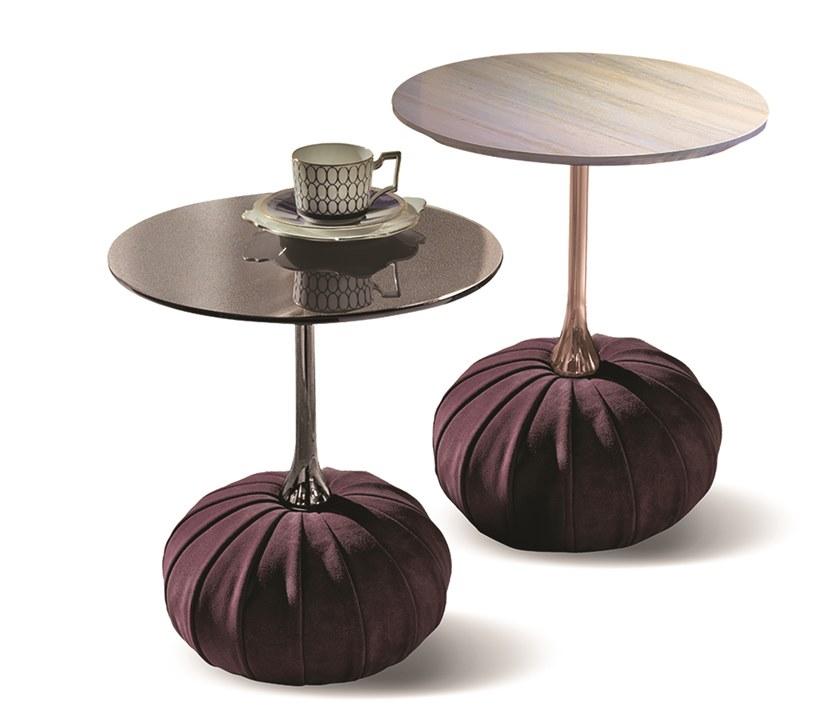 意大利Longhi 茶几系列 五金实木大理石不锈钢多边形三角异形大理石茶几酒店KTV会所 Hexagonal  Low  coffee table