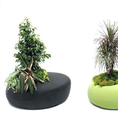 巴塞罗那设计爱种植园主 公共区域的花盆 户外椅子  Ross Lovegrove   LOVE PLANTER  BD Barcelona