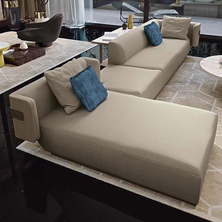 意大利 Longhi 2019年新品华人设计师吴斌 Ben Wu 现代中式轻奢古典家具 不锈钢实木软包家具
