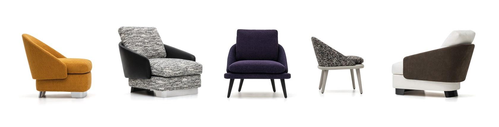 新品发布 意大利Minotti  Rodolfo Dordoni LAWSON  沙发椅 不锈钢实木皮质布艺休闲椅