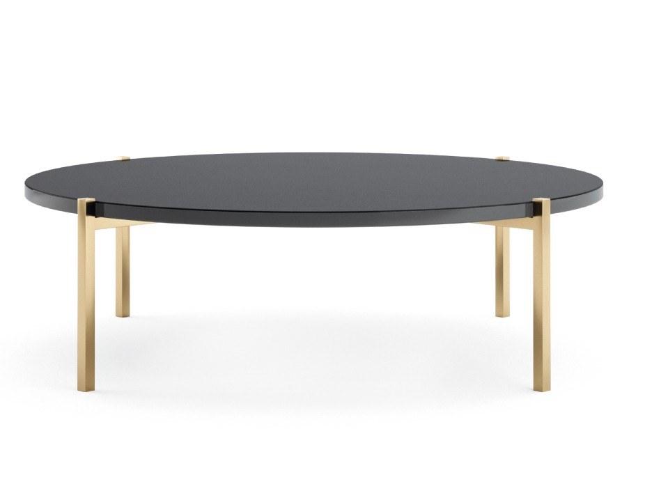 葡萄牙Portugal  PRADDY TIGER Tea table  五金电镀大理石实木极简茶几