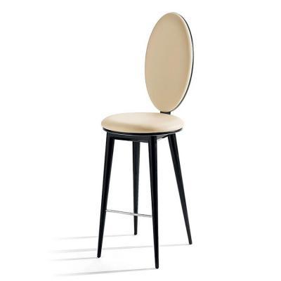2把起定:意大利 BASTIDE stool Andrée Putman 吧椅餐椅系列 实木五金皮质布艺高脚椅