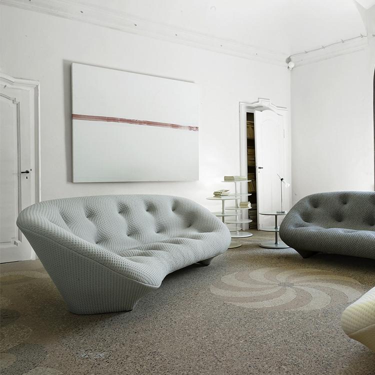 意大利写意空间异形拉扣沙发 Ronan&Erwan Bouroullec Ligne Roset PLOUM Sofa